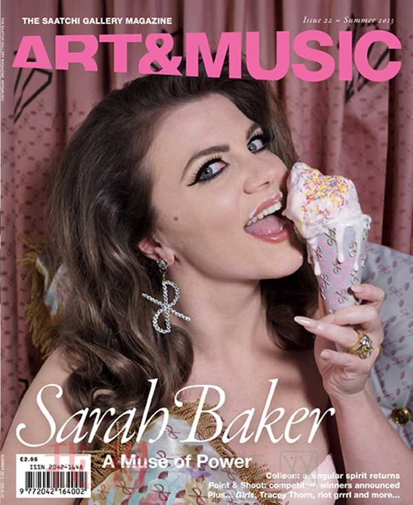 《The Saatchi Gallery Magazine Art & Music》杂志